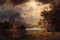 Estes Park, Colorado, 1869, bierstadt
