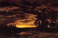 Evening on the Prarie, c.1870, bierstadt