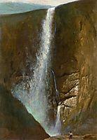 The Falls, 1873, bierstadt