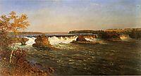 Falls of Saint Anthony, 1887, bierstadt