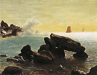 Farralon Islands, California, bierstadt