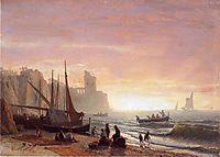 The Fishing Fleet, 1862, bierstadt