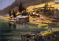Fishing and Hunting Camp, Loring, Alaska, 1889, bierstadt