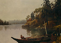 Fishing on the Northwest Coast, c.1889, bierstadt