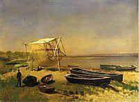 Fishing Station, Watch Hill, bierstadt