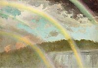 Four Rainbows over Niagara, bierstadt