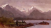 The Grand Tetons, Wyoming, bierstadt
