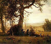 Guerrilla Warfare. Picket Duty in Virginia, 1862, bierstadt