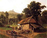 In the Foothills, 1861, bierstadt