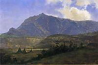 Indian Encampment, bierstadt