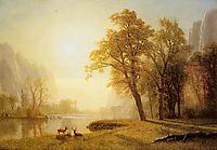 Kings River Canyon, California, 1874, bierstadt