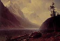 Lake Louise, c.1892, bierstadt