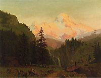 Landscape, bierstadt
