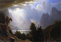 Landscape, c.1869, bierstadt