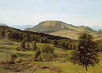Landscape. Hill and Dale, bierstadt