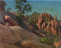 Landscape Study Owens Valley, California, 1872, bierstadt