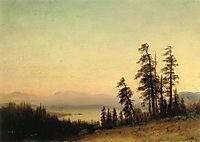 Landscape With Deer, 1876, bierstadt