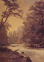 Lower Yosemite Valley, bierstadt