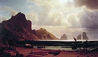 The Marina Piccola, Capri, 1859, bierstadt