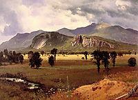 Moat Mountain Intervale, New Hampshire, c.1862, bierstadt