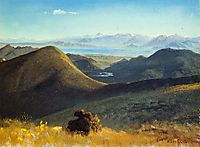 Mono Lake, Sierra Nevada, California, 1872, bierstadt