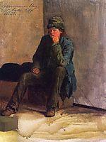 Mormon Boy, Salt Lake City, 1863, bierstadt