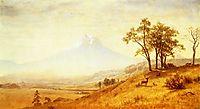 Mount Hood , 1863, bierstadt
