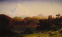 Mount Hood, Oregon, 1865, bierstadt