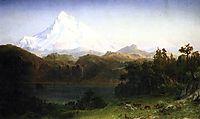 Mount Hood, Oregon , 1865, bierstadt