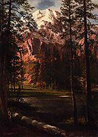 Mountain Lake, bierstadt