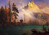 Mountain Lake, c.1865, bierstadt