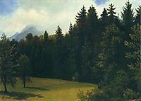 Mountain Resort, 1859, bierstadt