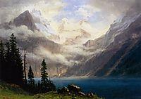 Mountain Scene, c.1879, bierstadt