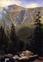 Mountainous Landscape, bierstadt
