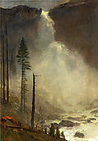 Nevada Falls, bierstadt
