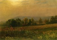 New England Landscape, 1889, bierstadt