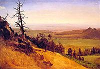 Newbraska Wasatch Mountains, 1859, bierstadt