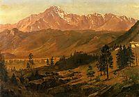 Pikes Peak, bierstadt