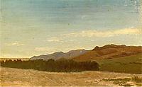 The Plains Near Fort Laramie, c.1863, bierstadt