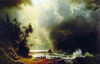 Puget Sound on the Pacific Coast, 1870, bierstadt