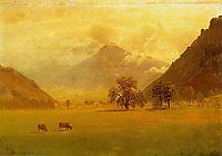 Rhone Valley, bierstadt