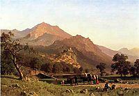 Rocca de Secca, 1858, bierstadt