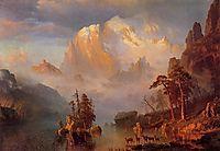 Rocky Mountains, 1866, bierstadt