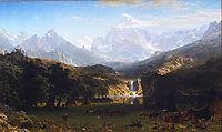 The Rocky Mountains, Lander-s Peak, 1863, bierstadt