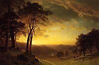 The Sacramento River Valley , c.1872, bierstadt