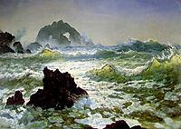 Seal Rock, California, c.1872, bierstadt