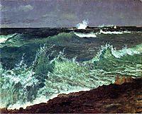 Seascape, bierstadt