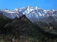 Sierra Nevada, 1872, bierstadt