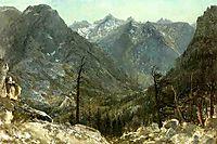 The Sierra Nevadas, bierstadt