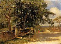 Street in Nassau , 1878, bierstadt